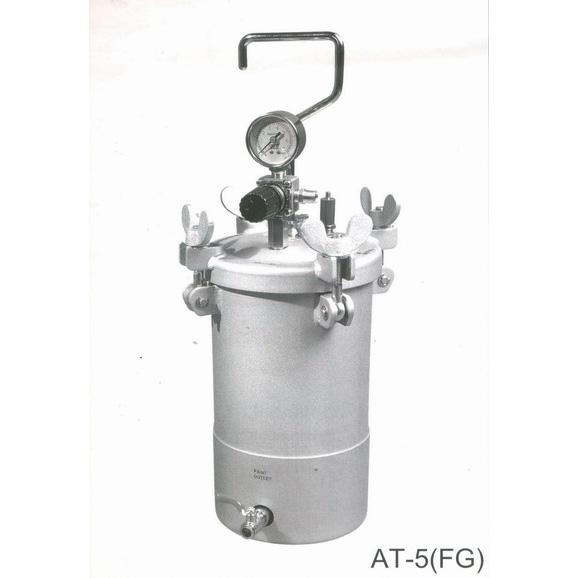 Hand carry pressure Tank -down drain
